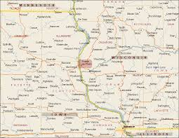 map of areas and surrounding areas maps weather prairie du chien wisconsin