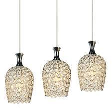 Island Lighting For Kitchen Dinggu Modern 3 Lights Crystal Pendant Lighting For Kitchen