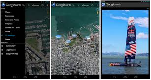earth for android earth for android app now shows geotagged photos