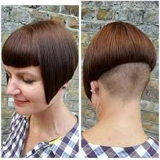 wedge one side longer hair pin by david connelly on sexy napes 1 pinterest bobs shaved