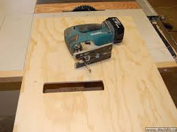 Table Jigsaw Making A Utility Table Saw Page 1