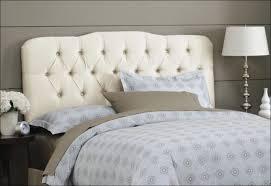 Gray Tufted Headboard Bedroom Marvelous Grey Linen Tufted Headboard Fabric Headboard