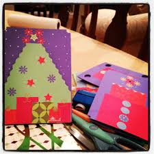 construction paper christmas cards christmas stuff to do with