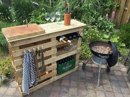 Ideas For Garden Furniture by Best 25 Outdoor Pallet Bar Ideas On Pinterest Outdoor Pallet