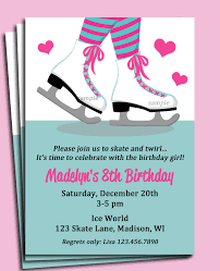 top 10 ice skating birthday party invitations theruntime com