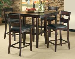 outdoor bar height dining table and chairs bar height dining table