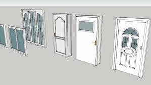 doors windows and balcony doors 3d warehouse
