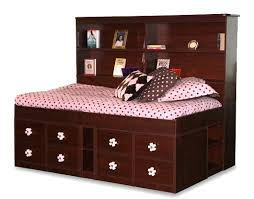 twin captains bed with bookcase headboard twin captains bed with drawers beauresolution com