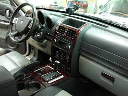 Amazon Com Dodge Nitro Interior Burl Wood Dash Trim Kit Set 2007