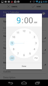 timepicker android ui gem android calendar time picker
