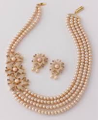 real pink pearl necklace images Chandrani pearls jpg