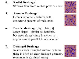 definition pattern of drainage river systems and landforms ppt video online download