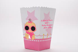 a star is born hollywood white pink personalized baby shower