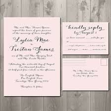 wedding invitations with rsvp cards included wedding invitation templates wedding invitations with rsvp
