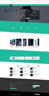 best free responsive e commerce website templates creative
