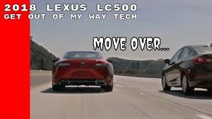 drivers way lexus 2018 lexus lc500 lane valet system youtube