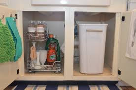 Kitchen Cabinet Trash Can Pull Out Kitchen Trash Cans In Cabinet Roselawnluthera Ooferto