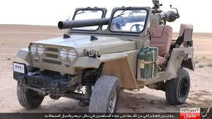 military jeep with gun bellingcat islamic state captures masses of iranian supplied
