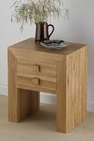 furniture inspiring solid wooden oak nightstand bedroom design