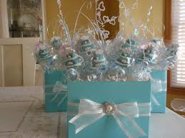 ideas for centerpieces ideas on baby shower centerpieces blue and