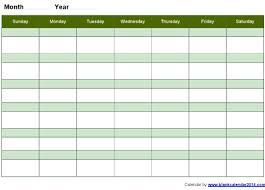 work week calendar printable u2013 blank calendar 2017