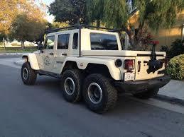 truck jeeps jeep wrangler 6x6 truck has a hemi v8 and guns