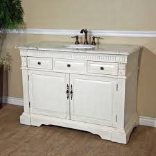 sink wood vanity antique white bathroom double vanity cabinets