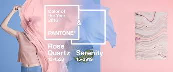 color of year pantone color of the year 2016 is blend of serenity and rose quartz