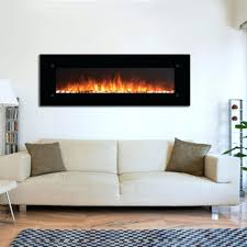 electric wall fireplace reviews mink media flat panel mount heater