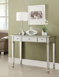 mirrored console vanity table zephyr antique silver mirrored makeup vanity desk