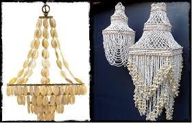 diy shell chandelier the different diy garden chandelier ideas adam borzy