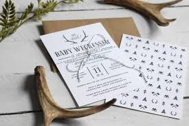 oh deer woodland baby shower invitations