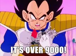 Its Over 9000 Meme - it s over 9000 meme on imgur