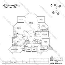 one miami floor plans ocean one unit 1810 condo for rent in sunny isles beach
