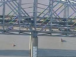 car falls into ohio river off combs hehl bridge on i 275