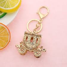 cute key rings images Cute keychains pumpkin pendant keyring car leather bag carriage jpg