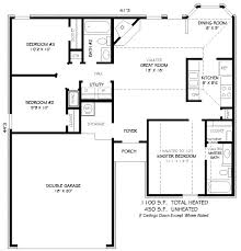 1100 sq ft 2 bedroom house plans 1000 square feet feet 2 bedrooms 2