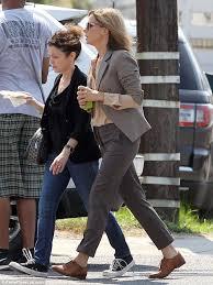Sandra Bullock Wardrobe Blind Side Sandra Bullock Debuts Blonde Hair On New Orleans Set Of New Film