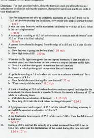 Speed Velocity And Acceleration Calculations Worksheet Answers Worksheet 255 Speed Distance Worksheet With Answers