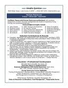 Human Resource Resume Samples by Resume Human Resources Resume Samples