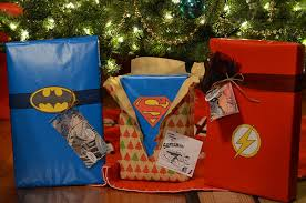 superman wrapping paper i make things and stuff holy gift wrap batman
