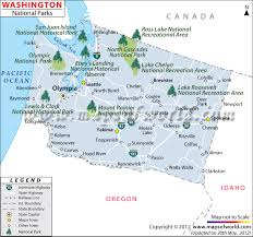 map of oregon state parks washington national parks map