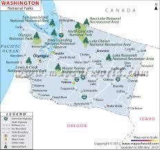 Louisiana national parks images Washington national parks map jpg