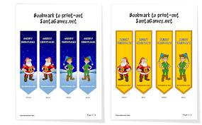 bookmark print christmas crafts u0026 activities