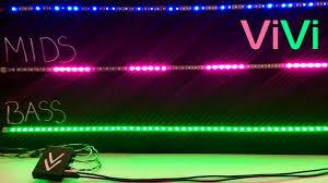 the smartest music reactive led controller vivi by matt kachur