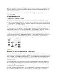 app packaing basics installation computer programs digital