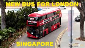 London Bus Interior New Bus For London Interior Walkabout Singapore Youtube