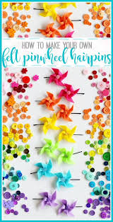how to make your own hair bows pinwheel tutorial