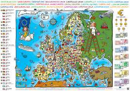 Eu Map United In Diversity