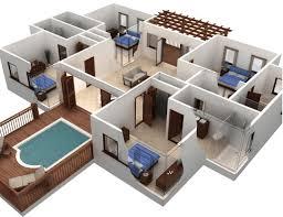 software design layout rumah cekhargarumah org gambar desain 3d denah rumah minimalis modern 2